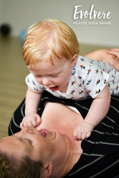 Baby Massage and Movement is a 5-week course. It is a playful and special bonding practice.